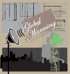 Global warning vector