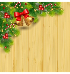 Pine decor vector