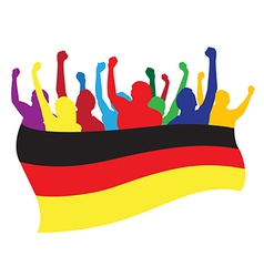 Germany fans vector