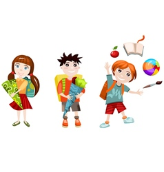 School children vector