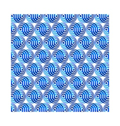 Mosaic blue background vector