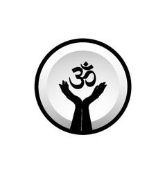 Symbol of hinduism vector