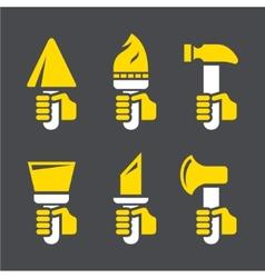 Icons repair vector