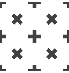 Plus pattern vector