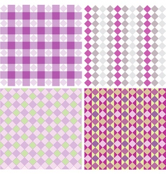 Color patterns vector