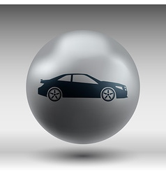 Automobile icon car vehicle automotive vector