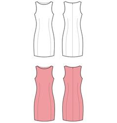 Classic dress vector