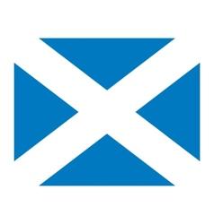 Scotland flag vector