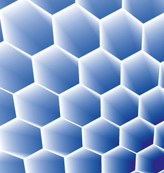 Honeycomb concept background vector