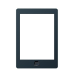 A portable modern tablet pc e-book vector