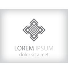 Corporate logo design template vector
