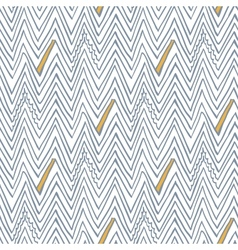 Simple seamless pattern with zigzag lines vector