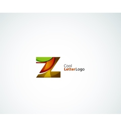 Z letter logo vector
