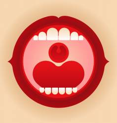 Mouth vector