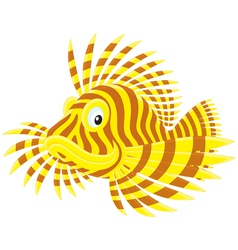 Scorpion fish vector
