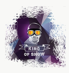Snowboard icon design vector