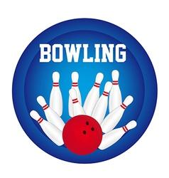 Bowling logo vector