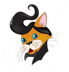 Retro cat vector