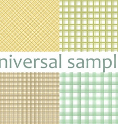 Set from nine original samples vector