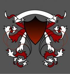 English crest vector