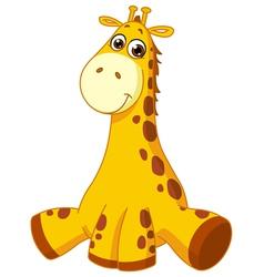 Baby giraffe vector