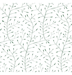 Fine floral ornament seamless pattern background vector