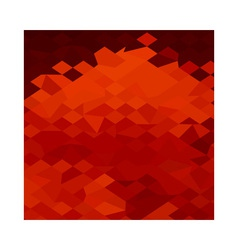 Red lava abstract low polygon background vector