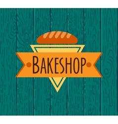 Collection of vintage retro bakery logo vector