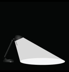 Lamp vector