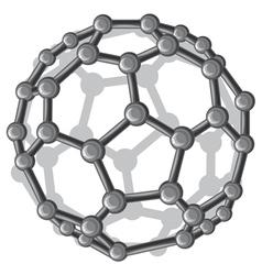Molecular structure of the c60 buckyball vector