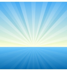 Sunburst background cover template vector