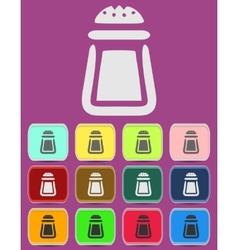 Salt icon - icon isolated vector