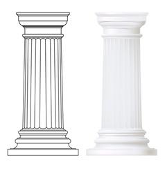 Doric column vector