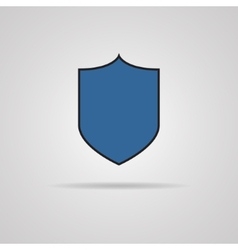 Protection icon with shadow vector