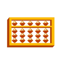 Icon abacus calculation vector
