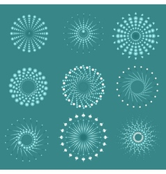 Popular background television sunbeams boom vector