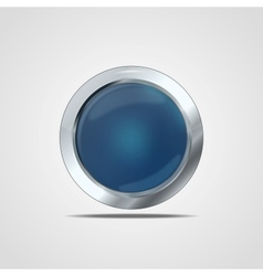 Glass button vector