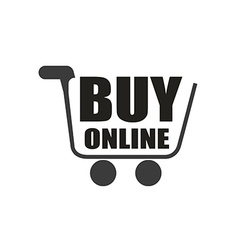 Buy on line design vector