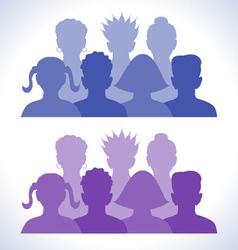 Web groups icon vector