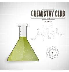 Chemistry club vector