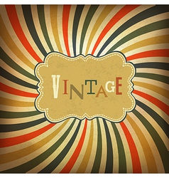 Grunge vintage background vector