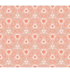 Linear geometric pattern 50s wallpaper design vector