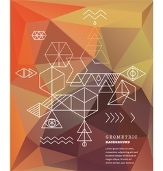 Sacred geometry alchemy spirituality icons vector