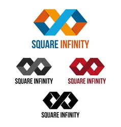 Square infinity vector