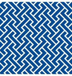 Pattern seamless chevron blue vector