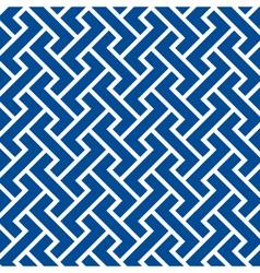 Pattern seamless chevron blue vector
