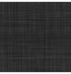 Seamless texture of black canvas vector
