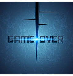 Message game over vector