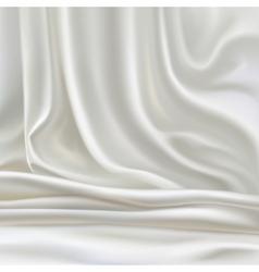 White silk vector
