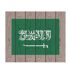 Flag of saudi arabia vector